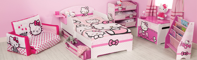 Chambre fille hello kitty pas cher - Decoration hello kitty pour chambre bebe ...